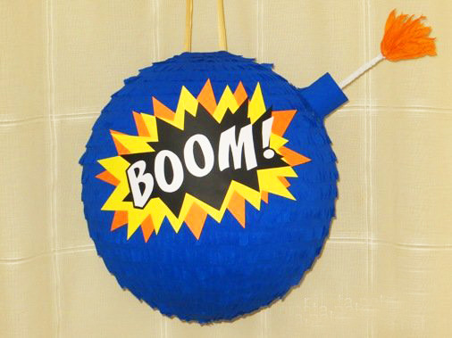 Пиньята - Бомба BOOM Есть размеры