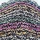 Вязаные шапочки радужные  из Непала ручной работы мужская,натуральная., фото 4
