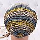 Вязаные шапочки радужные  из Непала ручной работы мужская,натуральная., фото 10