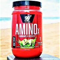 BSN Amino X 435 g 30 порцій bcaa BSN, амінокислоти для набору ваги маси