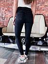 Черные женские джинсы скинни стрейч 68bil461, фото 2