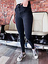 Черные женские джинсы скинни стрейч 68bil461, фото 3