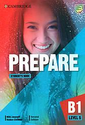Учебник  Cambridge English Prepare! 2nd Edition 5 Student's book
