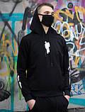 Мужской молодежный спортивный костюм BILLEEILISH с капюшоном.Турция.Лето/осень 2020, фото 3