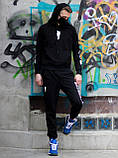 Мужской молодежный спортивный костюм BILLEEILISH с капюшоном.Турция.Лето/осень 2020, фото 2
