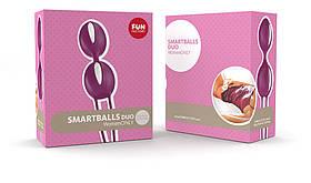 Вагинальные шарики Fun Factory SMARTBALLS DUO фиолетовый
