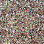 В ожидании праздника 1895-5, павлопосадский платок шерстяной с шелковой бахромой, фото 9