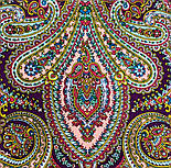В ожидании праздника 1895-5, павлопосадский платок шерстяной с шелковой бахромой, фото 7