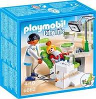 Playmobil 6662  Дантист з паціентом  City Life (Дантист и пациент)