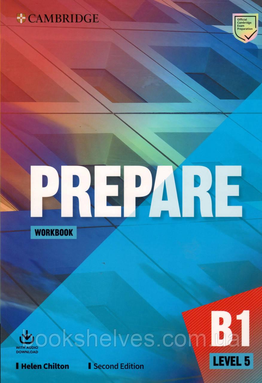Рабочая тетрадь Cambridge English Prepare! 2nd Edition 5 Workbook + Audio Download