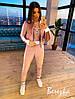 Женский бархатный костюм тройка спорт с Женские боди, штанами и мастеркой 66msp890Q