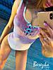 Бархатное Женские боди со шнуровкой на груди и без рукава 66mkp385Q