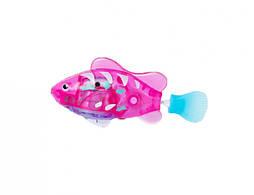 Интерактивная игрушка Robo fish Светящаяся рыбка-робот розовая