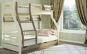 Двухъярусная кровать Светлана с ящиками и полочками 80/120*200 Venger™