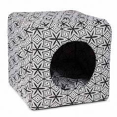 Лежак Природа «Фантазія» для котів/собак 40х40х37 см