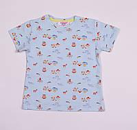 Детская футболка для девочки,для мальчика рост 80,86, 92,98,104 см.