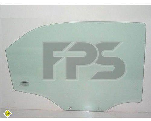 Боковое стекло левое задней двери Chevrolet Aveo T200 '04-06 cедан (XYG)
