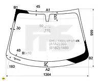 Лобовое стекло Chevrolet AVEO 12-  T300  XYG