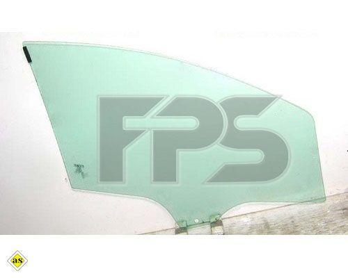 Боковое стекло передней двери Fiat Linea '07- левое (XYG)