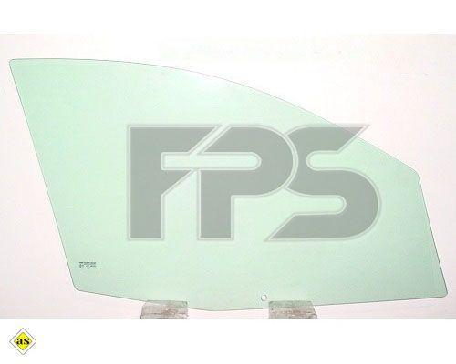 Бічне скло лівої передньої двері Ford FIESTA 2002-2008