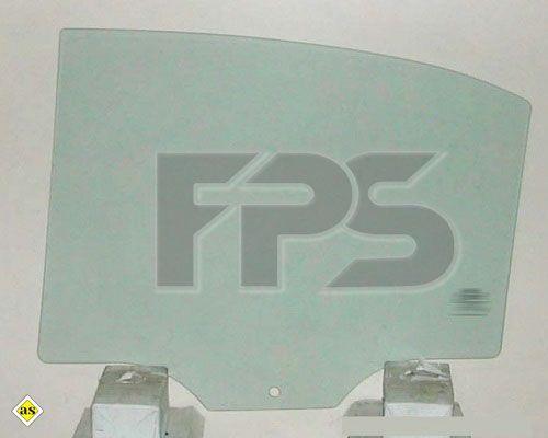 Боковое стекло правое задней двери Hyundai Sonata (05-10) XYG