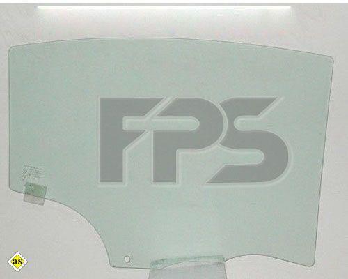 Боковое стекло левое задней двери Mazda 3 04-09  XYG