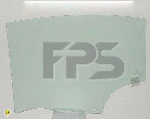 Боковое стекло правое задней двери Mazda 3 BK 2003-2009 HB / SDN