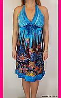 Платье повседневное. One size (46-48). Сарафан. Женская одежда