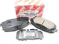 Передні гальмівні колодки кераміка 04465-AZ018-TM. TOYOTA