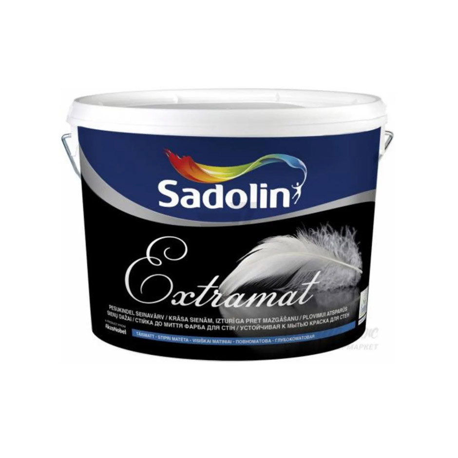 Глубокоматовая краска Sadolin Inova Extramat база BW 2.5 л