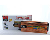 Преобразователь напряжения 12V в 220V 1500W AC/DC SSK Инвертор