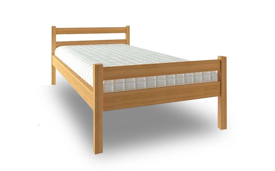 Детская деревянная односпальная кровать Эко-3  Venger™