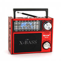 Радиоприемник GOLON RX-201 usb sd card FM/AM/SW фонарик