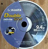 DVD - R 9,4Gb 8x Bulk 50 pcs DoubleSide Ridata двусторонние