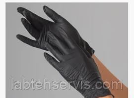 Перчатки нитриловые, плотные, 100 шт./уп. или 50 пар