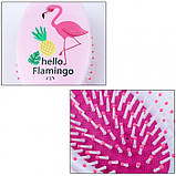 Расческа для волос Kommen, фламинго, 1 шт, фото 4