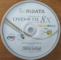 Ridata DVD+R DL 8.5 Gb 8x двухслойные printable
