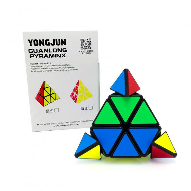 Кубик логика YJ8331 (1711029) (120шт/4) треугольный, в коробке 7,5*7,5*7,5см