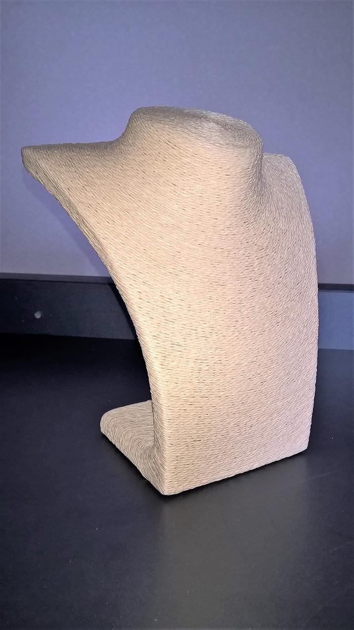 Шея под бижутерию соломенная нить