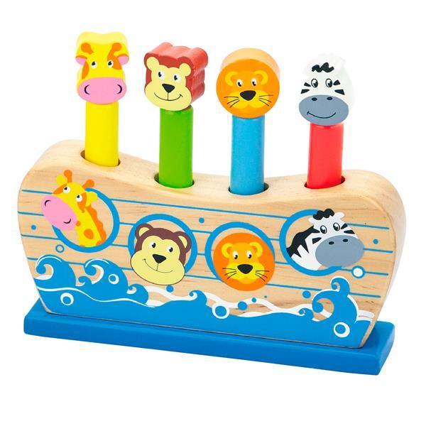 Деревянный игровой набор Viga Toys Веселый ковчег (50041)