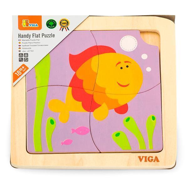 """Пазл Viga Toys """"Рыбка"""" (50144)"""