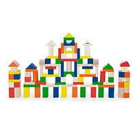 Деревянные кубики Viga Toys Большая стройка, 100 шт., 2,5 см (50334)