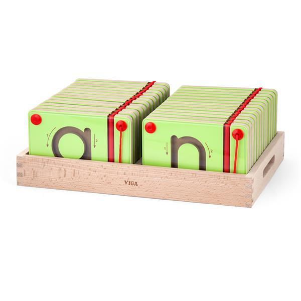 Обучающий набор Viga Toys Учимся писать Английские строчные буквы (50338)