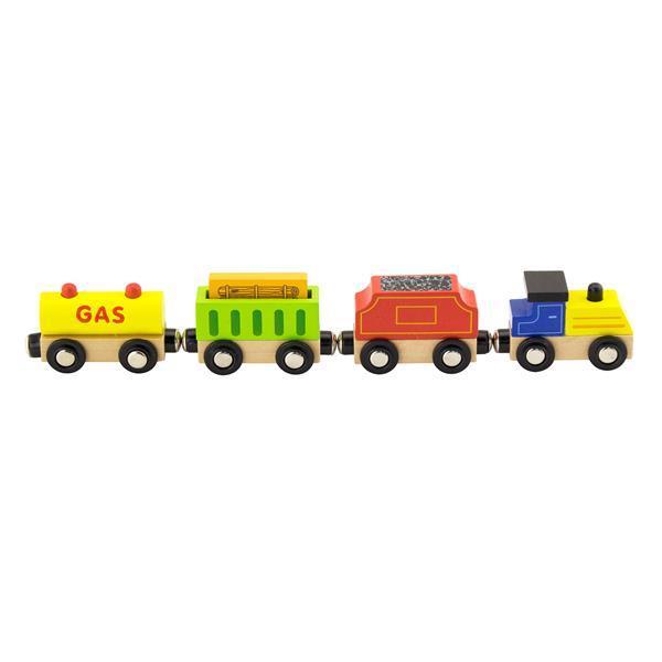 """Доп. набор к ж/д Viga Toys """"Поезд грузовой. Источники энергии"""" (50820)"""