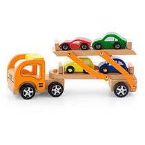 """Іграшка Viga Toys """"Автотрейлер"""" (50825)"""