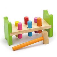 """Игрушка Viga Toys """"Забей гвоздик"""" (50827), фото 1"""