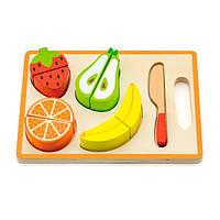 Игрушечные продукты Viga Toys Деревянные фрукты (50978), фото 1