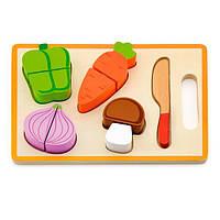 Игрушечные продукты Viga Toys Деревянные овощи (50979), фото 1