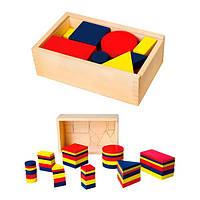 """Набор для обучения Viga Toys """"Логические блоки"""" (56164), фото 1"""