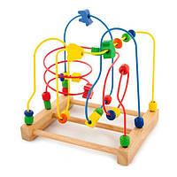 Деревянный лабиринт Viga Toys Бусины и фигурки (58374), фото 1